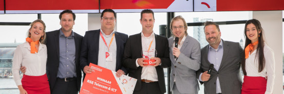 RSE telecom & ICT voor de derde keer op rij Nederlands Vodafone Business Solutions Partner of the Year